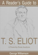 A Reader's Guide to T. S. Eliot