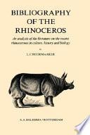 Bibliography Of The Rhinoceros