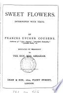Sweet Flowers Interwoven With Texts 2 Pt Pt 2 Is Entitled Beautiful Flowers