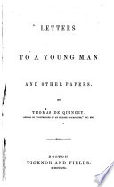 Letters to a Young Man and Other Papers Book PDF
