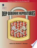 Deep Geologic Repositories