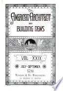 The American Architect and Building News Book