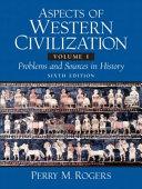 Aspects Of Western Civilization Book PDF