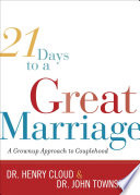 21 Days to a Great Marriage Book PDF