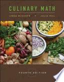 Culinary Math Book