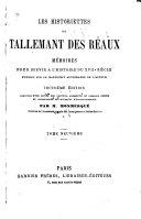 Les historiettes de Tallemant des Réaux