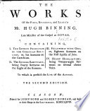 The Works Of Mr Hugh Binning The Second Edition