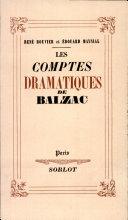 Pdf LES COMPTES DRAMATIQUES DE BALZAC Par RENE BOUVIER, EDOUARD MAYNIAL Telecharger