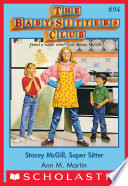 The Baby Sitters Club  94  Stacey McGill  Super Sitter