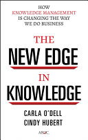 Pdf The New Edge in Knowledge