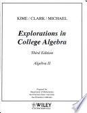 (WCS)College Algebra for San Francisco State University