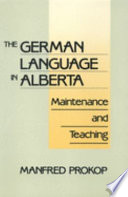 The German Language in Alberta