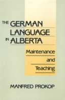 Pdf The German Language in Alberta