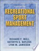 Recreational Sport Management