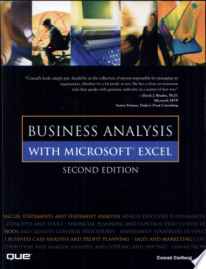 Free Download Business Analysis with Microsoft Excel PDF - Writers Club