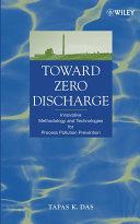 Toward Zero Discharge Book