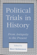 Political Trials in History