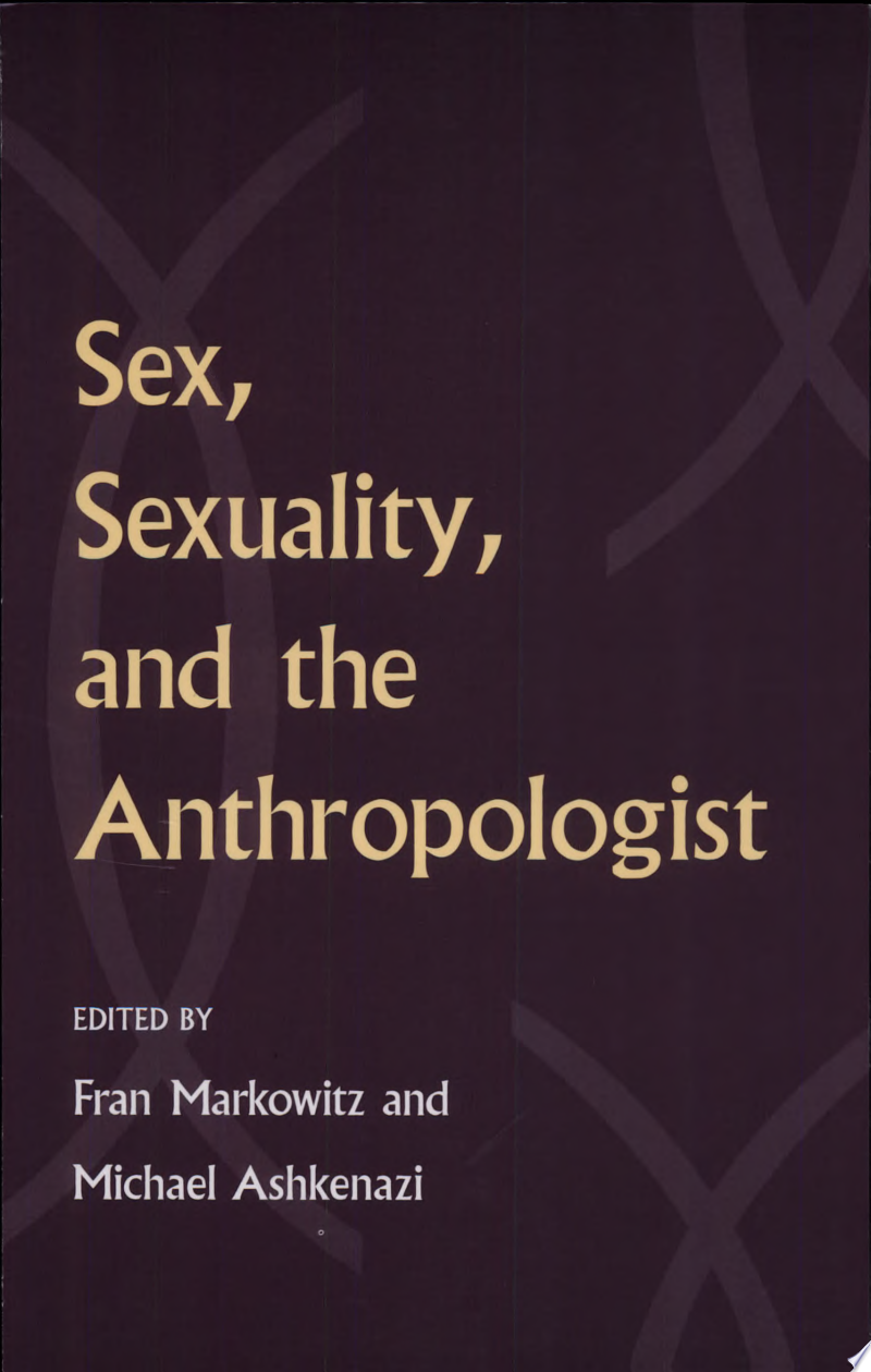 Sex, Sexuality, and the Anthropologist banner backdrop