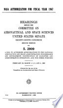 Hearings, Reports and Prints of the Senate Committee on Aeronautical and Space Sciences Pdf/ePub eBook