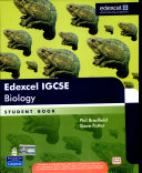 Edexcel IGCSE Biology Book Cover