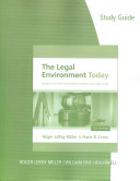 Legal Environment Today Book