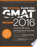 The Official Guide For Gmat Review 2016 With Online Question Bank And Exclusive Video PDF
