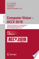 Computer Vision     ACCV 2018