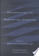 Perspectives On Rhetorical Invention