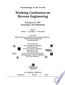 Proceedings of the Fourth Working Conference on Reverse Engineering, October 6-8, 1997, Amsterdam, the Netherlands