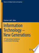 """Information Technology New Generations: 14th International Conference on Information Technology"" by Shahram Latifi"