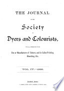 Journal Of The Society Of Dyers And Colourists Book PDF