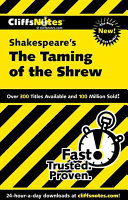 CliffsNotes on Shakespeare s The Taming of the Shrew
