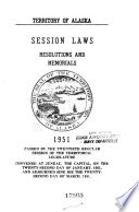 Session Laws, Resolutions, and Memorials