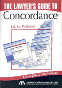 The Lawyers' Guide to Concordance