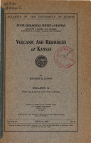 Volcanic Ash Resources of Kansas