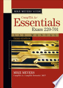 Mike Meyers Comptia A Guide Essentials Lab Manual Third Edition Exam 220 701