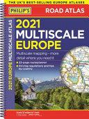 2021 Philip s Multiscale Road Atlas Europe