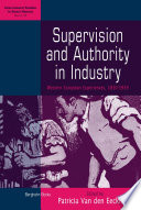 Supervision and Authority in Industry