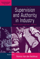 Pdf Supervision and Authority in Industry Telecharger