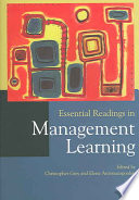 Essential Readings in Management Learning Book