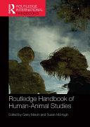 Pdf Routledge Handbook of Human-Animal Studies Telecharger