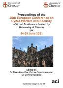 ECCWS 2021 20th European Conference on Cyber Warfare and Security [Pdf/ePub] eBook