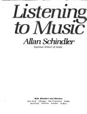 Listening To Music Book PDF