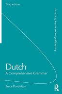 Dutch  A Comprehensive Grammar