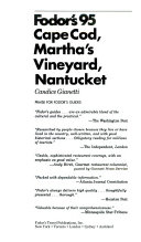 Cape Cod  Martha s Vineyard  Nantucket 95