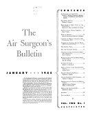 The Air Surgeon s Bulletin