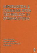 Cover of Information and Communication Technology in Organizations