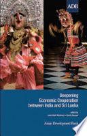 Deepening Economic Cooperation Between India And Sri Lanka Book PDF
