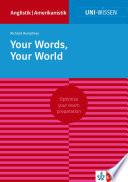 Uni Wissen Your Words  Your World
