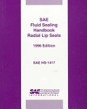 Sae Fluid Sealing Handbook Radial Lip Seals Book PDF